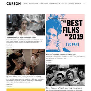 Curzon Blog