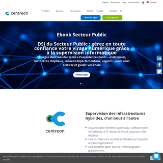 ArchiveBay.com - centreon.com - Centreon - Supervision informatique - Infrastructures Hybrides, MSP & IoT