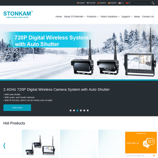 Welcome to STONKAM® (SHARPVISION)- 1080P mobile DVR, 360° around view system, ADAS, vehicle systems STONKAM CO., LTD