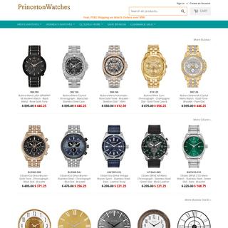 Princeton Watches - Citizen, Seiko, Bulova, G-Shock, Luminox, & More