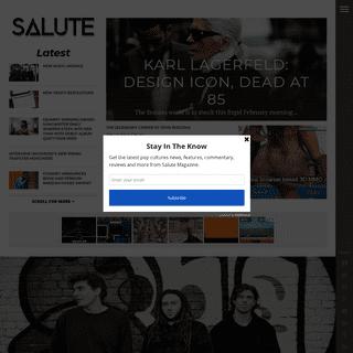 ArchiveBay.com - salutemag.com - Salute - Redefining Pop Culture