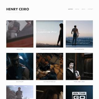 HENRY CEIRO