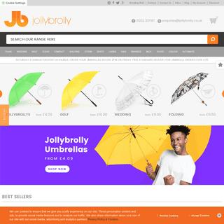 Buy Umbrellas For Weddings And Events - Jolly Brolly Umbrellas UK