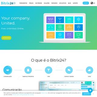 Bitrix24- Plataforma de Colaboração Gratuita #1 com CRM, Tarefas, Projetos, Documentos, Mensageiro e Muito Mais