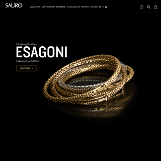 Sauro - Men's Italian Jewelry, Luxury Modern Designer Jewelry for Men