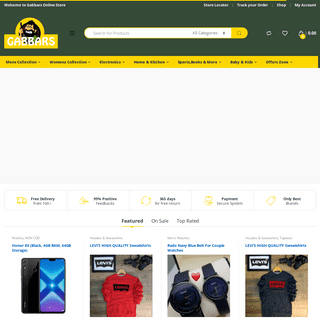 Online Shopping Site for Mobiles, Fashion, Books, Electronics, Home Appliances and More - Gabbars