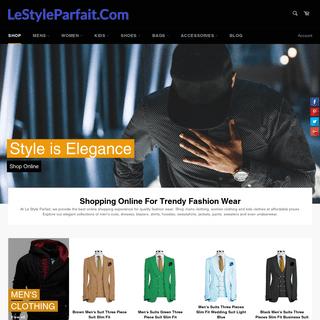 ArchiveBay.com - lestyleparfait.com - Shopping Online For Clothing, Shoes, Bags - LeStyleParfait.Com