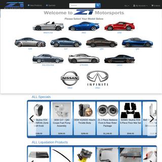 Z1 Motorsports 300ZX Performance Specialist