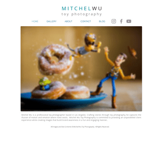 Mitchel Wu Toy Photography - Home - Los Angeles Toy Photographer