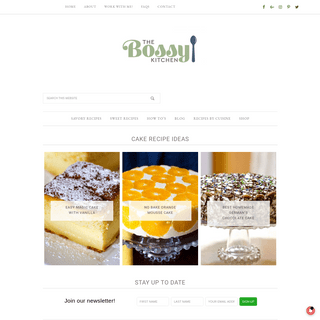 ArchiveBay.com - thebossykitchen.com - The Bossy Kitchen – Cooking is love made visible