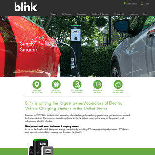 Electric Vehicle Charging - United States - Blink CarCharging