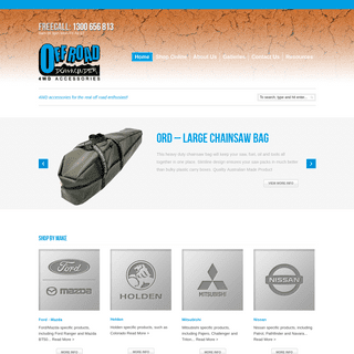 Off Road Downunder - 4WD accessories for the real off road enthusiast!