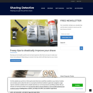 Shaving Detective - Helping you get the perfect shave