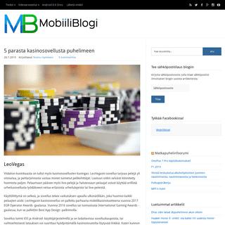 MobiiliBlogi – Kaikki mobiilista!