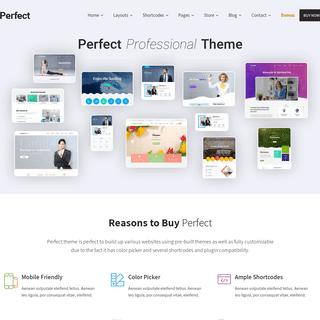 SKT Perfect Demo – Professional WordPress Theme