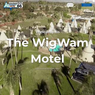 ArchiveBay.com - wigwammotel.com - Official WIGWAM MOTEL California Route 66 Website - Reserve Direct for Best Rate - San Bernardino Motel
