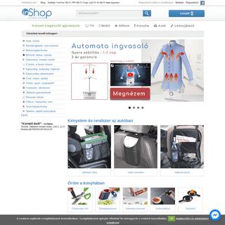 Üdvözlünk leendő inShopper! - inShop webáruház