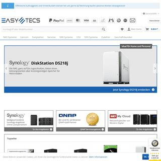 A complete backup of easy-tecs.de