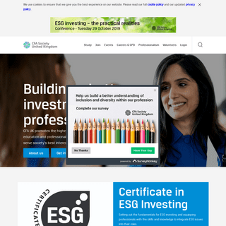 CFA UK - Building a better investment profession