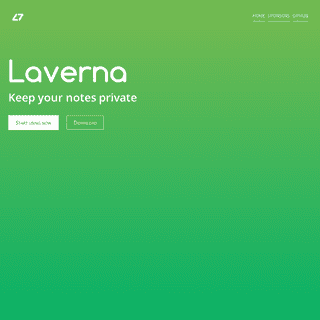 Laverna - keep your notes private