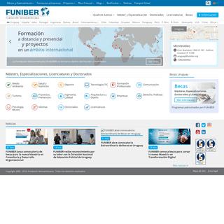 Máster, Doctorados y Cursos en línea - FUNIBER Uruguay
