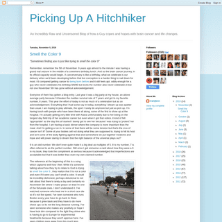 Picking Up A Hitchhiker