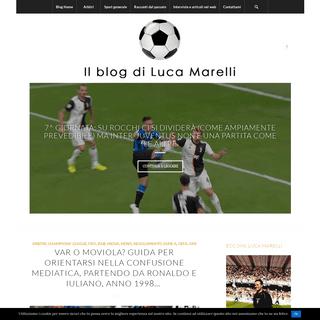 Luca Marelli - il mio blog sul calcio e lo sport