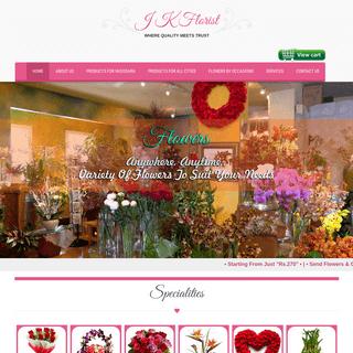 J K Florist – Where Quality Meets trust