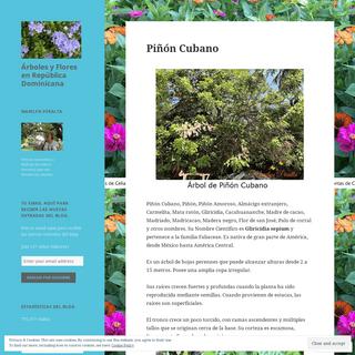 Árboles y Flores en República Dominicana