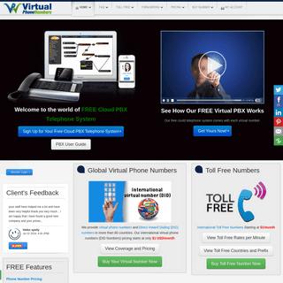 Virtual Phone (DID) Numbers - Call forwarding Service Provider - Virtual Number Provider - DID Numbers - Call Forwarding - Virtu