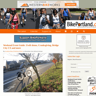 BikePortland.org - Portland Oregon bicycle news, events, culture, and opinion.