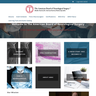 ArchiveBay.com - abns.org - Home - American Board of Neurological Surgery