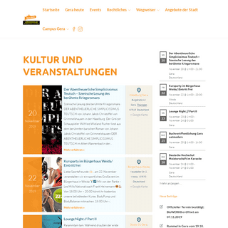 Gera.digital – Was ist los in Gera und der Umgebung