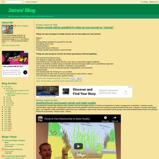 James' Blog
