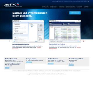 ArchiveBay.com - puresync.de - PureSync - Das Programm für Backups, Vergleichen, Synchronisieren. Für Windows