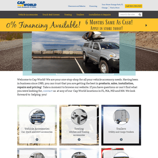 Cap World Truck Accessories and Trailers