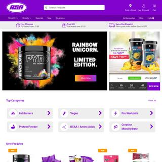 Supplement Store Online - Australian Sports Nutrition Shop - ASN