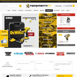 Ferramenta.pt - A Maior Loja Online de Ferramenta para Profissionais.