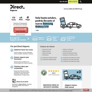 Seguros de coche, moto y hogar – Direct Seguros