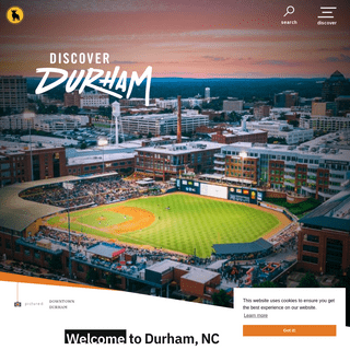 Durham, NC Things to Do, Hotels, Events, Dining & Vacation Guide