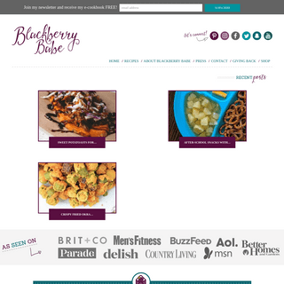 ArchiveBay.com - blackberrybabe.com - Blackberry Babe - Easy dinner, side dish and appetizer recipes