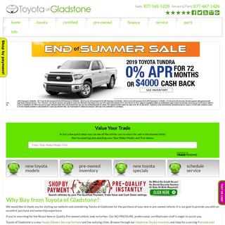 ArchiveBay.com - toyotaofgladstone.com - Toyota of Gladstone serving Portland OR Vancouver WA Beaverton