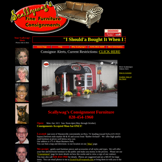 ArchiveBay.com - scallywagweb.com - Scallywag's Furniture Consignment - Home