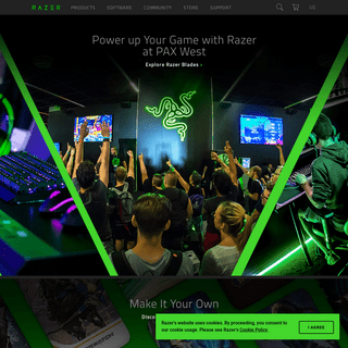 Razer United States - For Gamers. By Gamers.