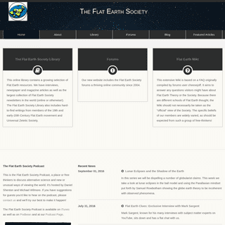The Flat Earth Society
