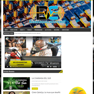 ArchiveBay.com - barranquillaestereo.com - Barranquilla Estereo - Primera desde 1993.