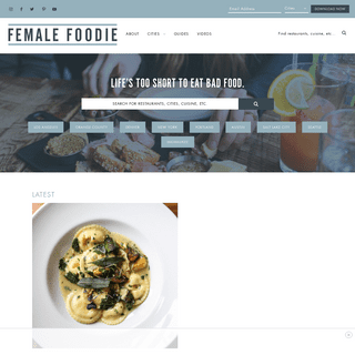 ArchiveBay.com - femalefoodie.com - Female Foodie - Life's too short to eat bad food