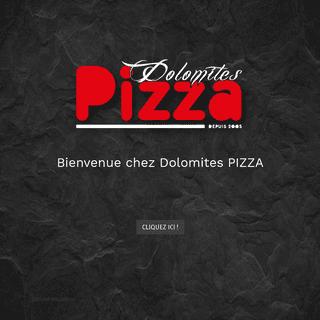 Dolomites Pizza - Pizzeria artisanale au 23 cours de la Martinique à Bordeaux - Dolomites Pizza