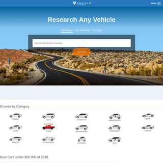Check Any VIN - It's Free - Free Vehicle History and VIN Check