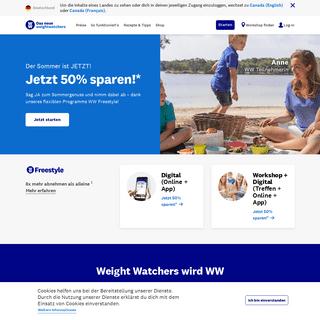 WW (Weight Watchers)- Abnehmen & Wellness